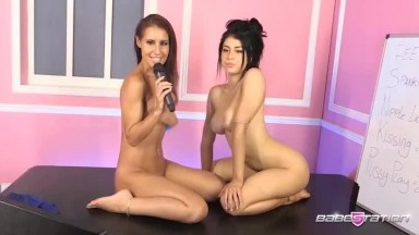 Atlanta Moreno and Jess West Babestation Private Show
