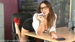 Morgan from Babestation office set